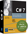 C# 7 - Pack de 2 libros: Domine el desarrollo con Visual Studio 2017