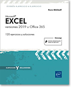 Excel 2019 - versiones 2019 u Office 365