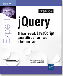 jQuery - El framework JavaScript para sitios dinámicos e interactivos (3ª edición), libro jquery , CSS , DOM , AJAX , plugin , focusin , focusout