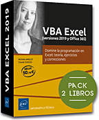VBA Excel (versiones 2019 y Office 365), LNTPTRIT19EXCV
