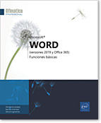 Word (versiones 2019 y Office 365), Microsoft, tratamiento de texto, documento de texto, word2019, word19, correo, carta, LNOP19WORFB